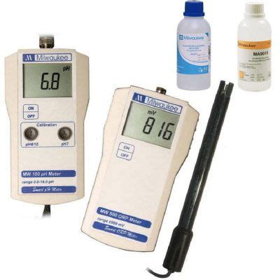 Ph 099 Combination Ph And Orp Meter milwaukee instruments mw102 ph c mw500 orp meter solution combo for ionized alkaline water