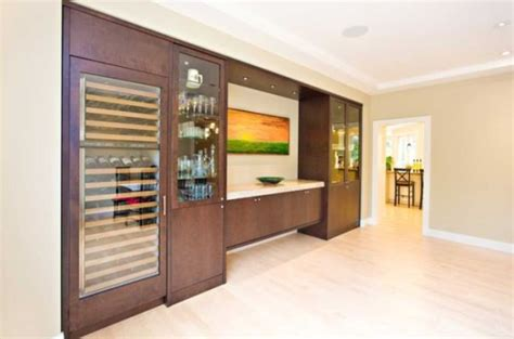 wine storage for modern dining rooms