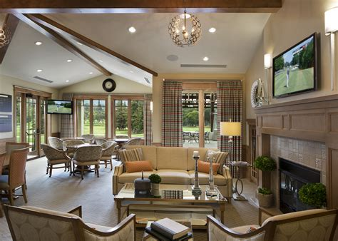 golf clubhouse interior design los altos golf country club marsh associates inc