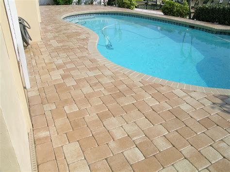 remodel your pool deck using thin overlay pavers modern design tarpon springs fl photo gallery