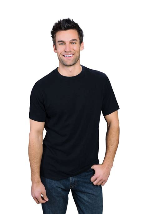 Nothing But Black Shirt black onno bamboo and organic cotton t shirt for