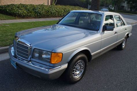 buy car manuals 1993 mercedes benz 500sec instrument cluster service manual manual cars for sale 1983 mercedes benz w126 transmission control 1983