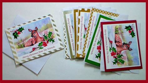how to make artist card how to scan your and make greeting cards at home