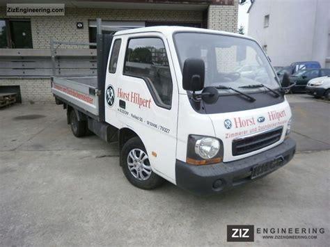 kia k2700 truck kia k2700 flatbed t 220 v u0026 au new 2002 stake truck