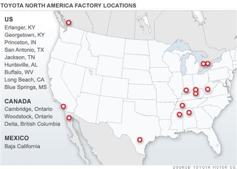 Toyota Plants In America Toyota Tells U S Plants Prepare To Shut Mar 23