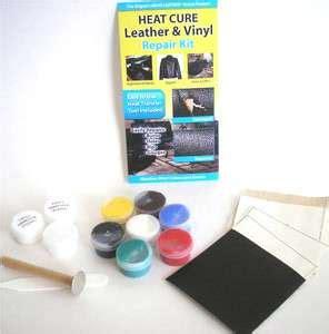 Heat Cure Liquid Leather Vinyl Repair Kit Fix Rips Burns Leather Sofa Repair Kits For Rips