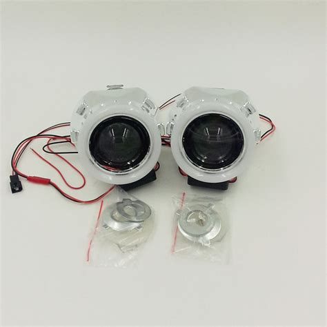 Lu Hid Xenon Projector car styling headlight retrofit 2 5 inch hid bi xenon projector headlight lens h1 h4 h7 led