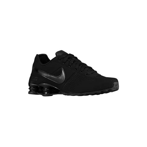 black nike sneakers mens black on black nike running shoes nike shox deliver