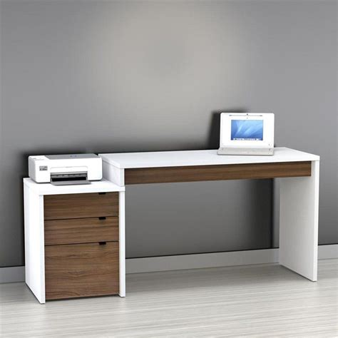 modern office desk to it nexera liber t computer desk with filing