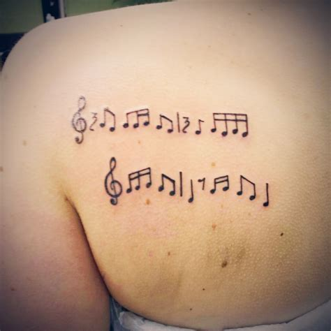 music note tattoo designs musical notes tattoos