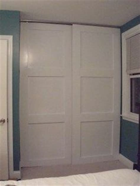 Diy Sliding Closet Door Sliding Closet Doors On Pinterest Diy Sliding Door Sliding Doors And Closet Doors
