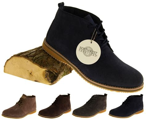 Airwalk Mens Casual Csaba Black N Brown Original Bnib mens suede leather desert boots formal ankle shoes smart casual winter sz size 8 ebay
