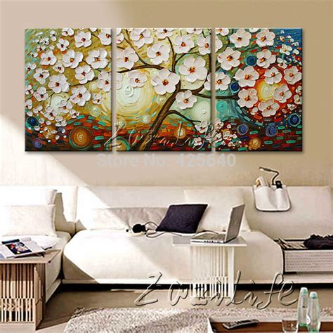 home decor sets aliexpress com buy oil painting 3 panel 3 piece canvas