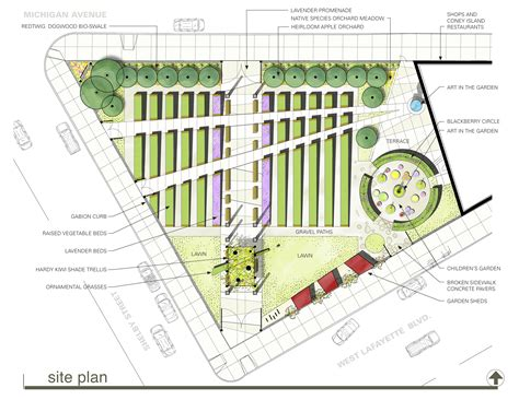 site planner asla 2012 professional awards lafayette greens urban