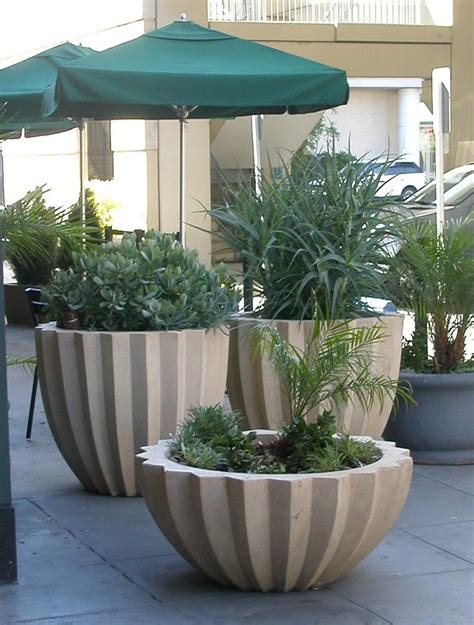 indian home design 2011 modern front elevation ramesh large concrete planter c 1920 set of four large french
