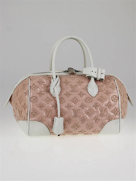 louis vuitton limited edition rose monogram bouclettes