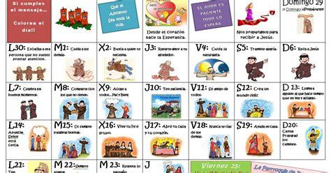 Dia De Tu Santo Calendario Vida De Gracia Calendario Adviento Un Prop 243 Sito Para