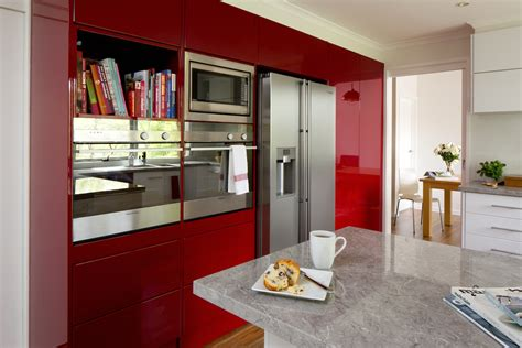 Flat Pack Pantry Bunnings by Kitchen Gallery Conceal It With Colour Kaboodle Kitchen