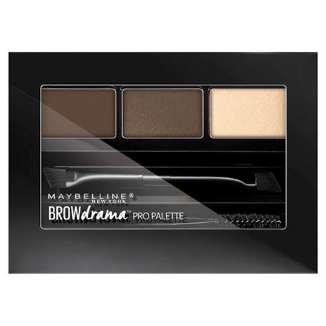 Maybelline Eyebrow Powder makeup review swatches maybelline up in smoke eye kit
