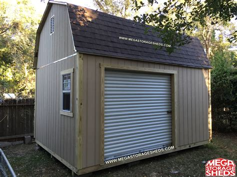 Overhead Shed Door Mega Storage Sheds Options Roll Up Doors