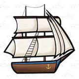 old boat clipart abeka clip art old fashioned ship