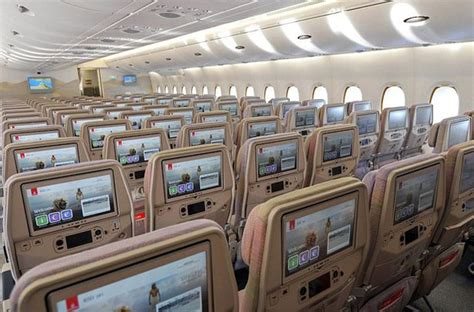 inside etihad jumbo jet first look inside new emirates airbus that will carry the