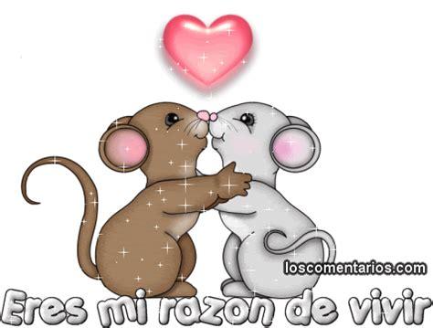 imagenes en movimiento de ratones piquito de corazon