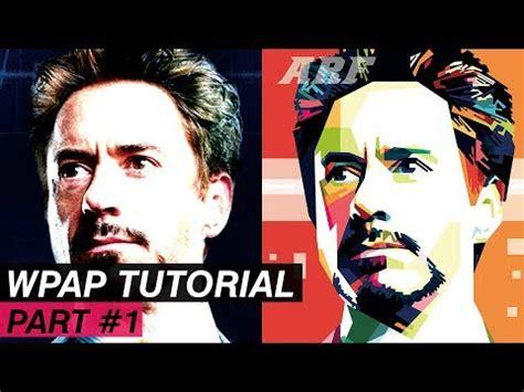 tutorial wpap lewat hp wpap tutorial corel draw x7 tony stark part 1 gameshp12