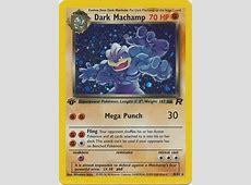 Dark Machamp - 10/82 - Holo 1st Edition - Team Rocket 1st ... Machamp