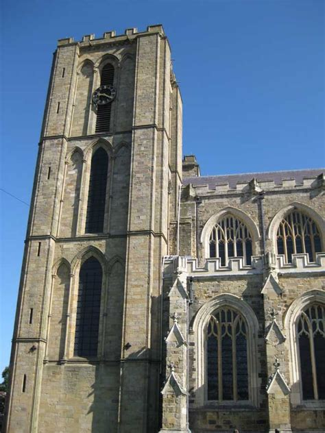 ripon cathedral building north yorkshire  architect