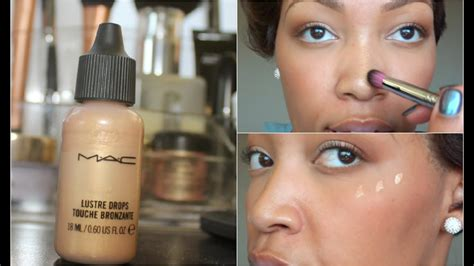 mac lustre drops how to use mac lustre drops in 2 minutes tutorial