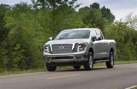 nissan platinum truck nissan titan xd platinum reserve v 8 decked in luxury