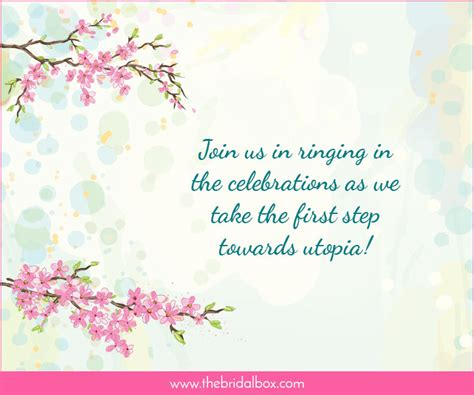 wedding invitation wording for arranged marriage 50 wedding invitation wording ideas you can totally use