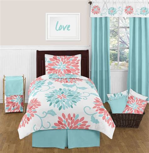 teen bedding 25 best ideas about coral bedding on pinterest mint bedroom walls easy diy room