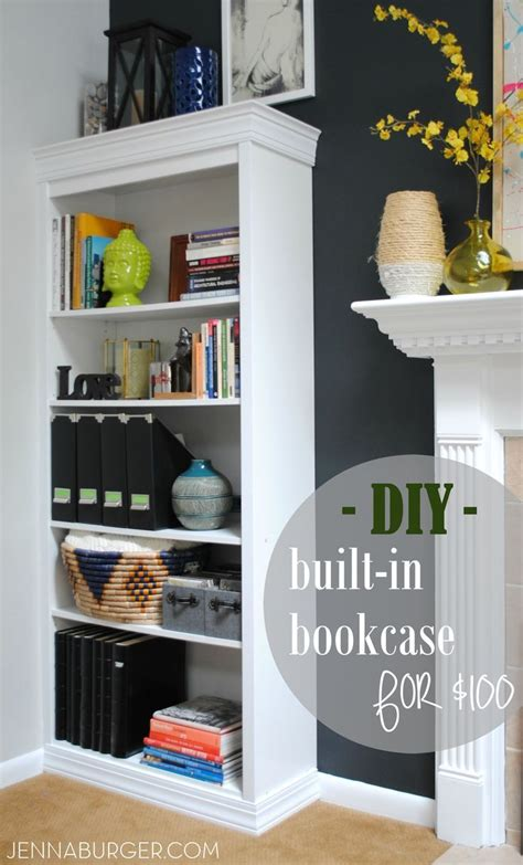 how to make bookcases look built in how to make a laminate bookcase look like a custom built