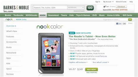 how to update nook color barnes noble nook color update