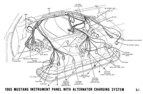 1965 ford mustang wiring diagram