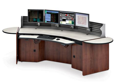 Security Desk by Press Release C Line Console For Security Stations
