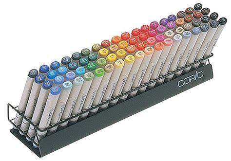 Drawing Markers by Copic Marker Storage Rack Stand Holds 72 Copic Markers