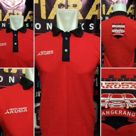 Kaos Kerah Polo Shirt Honda konveksi tempat pembuatan kaos kerah polo shirt di jakarta