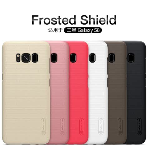 Nillkin Frosted Shield For Samsung Galaxy S8 Black Original nillkin frosted shield for samsung galaxy