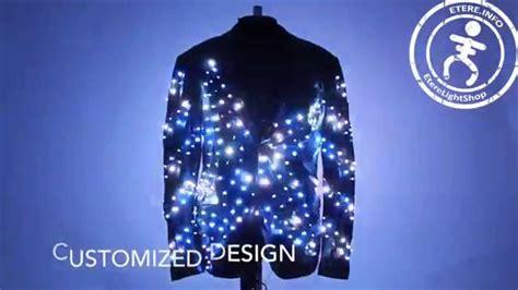Smart Led Light Up Video Screen Fashion Disco Jacket