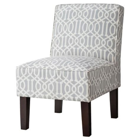 Chairs At Target by Threshold Slipper Chair Gray Lattice Target
