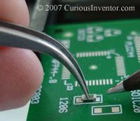 surface mount resistor soldering tools for surface mount soldering