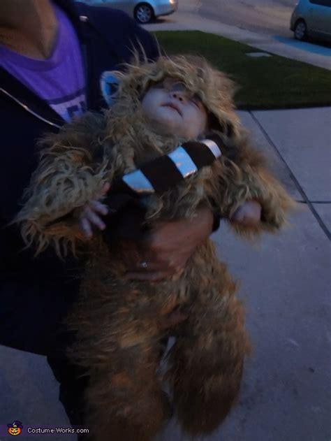wookie costume diy baby chewbacca costume photo 3 3