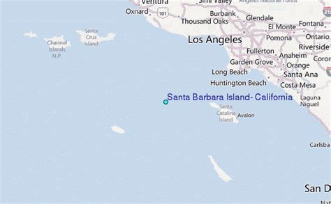 santa barbara island california tide station location guide
