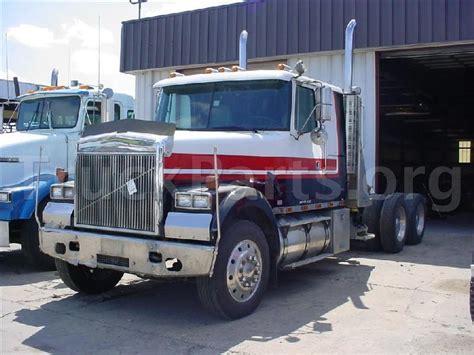 white volvo truck 1995 white gmc volvo