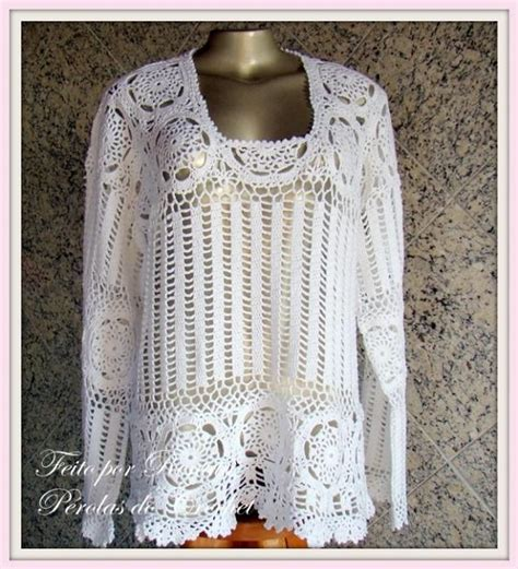 Madina Knitt Tunic By Mezora 127 best crochet clothes blouses and tops images on