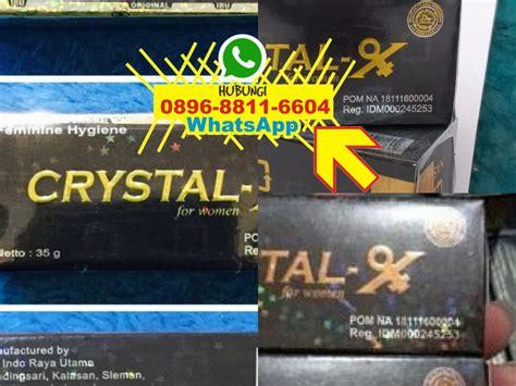 crystal x aman atau tidak crystal x asli 0896 8811 6604