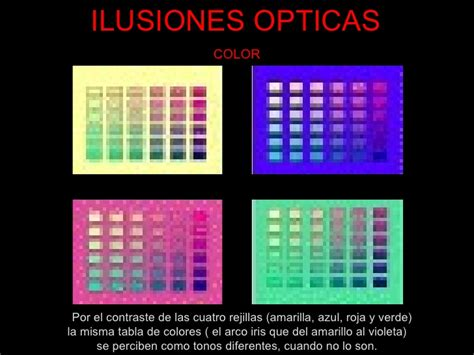 Ilusiones Opticas Colores | ilusiones opticas